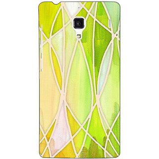 Jugaaduu Designer Geometry Pattern Back Cover Case For Redmi 1S - J250236