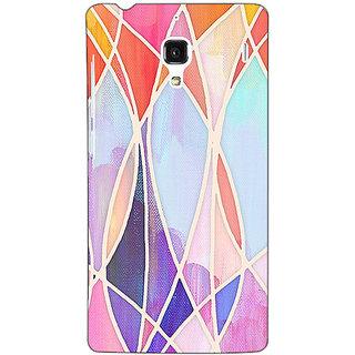 Jugaaduu Designer Geometry Pattern Back Cover Case For Redmi 1S - J250237