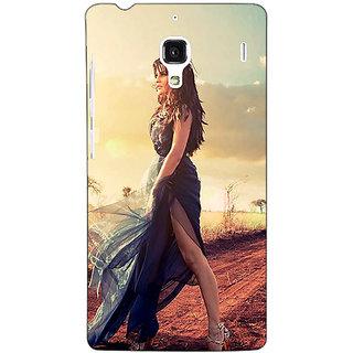 Jugaaduu Bollywood Superstar Jacqueline Fernandez Back Cover Case For Redmi 1S - J250990
