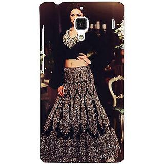 Jugaaduu Bollywood Superstar Deepika Padukone Back Cover Case For Redmi 1S - J250991