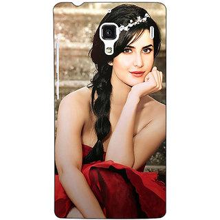 Jugaaduu Bollywood Superstar Katrina Kaif Back Cover Case For Redmi 1S - J250995