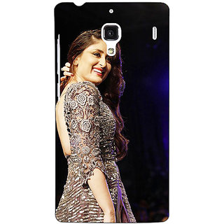 Jugaaduu Bollywood Superstar Kareena Kapoor Back Cover Case For Redmi 1S - J251004