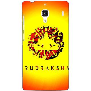 Jugaaduu Rudraksha Back Cover Case For Redmi 1S - J251264