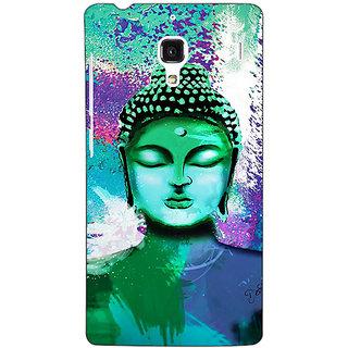 Jugaaduu Gautam Buddha Back Cover Case For Redmi 1S - J251265