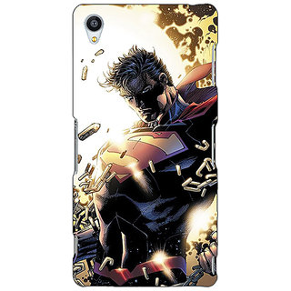 Jugaaduu Superheroes Superman Back Cover Case For Sony Xperia Z3 - J260039