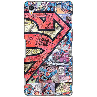 Jugaaduu Superheroes Superman Back Cover Case For Sony Xperia Z3 - J260044