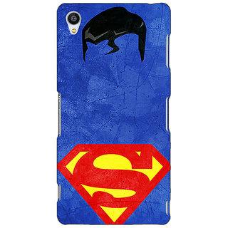 Jugaaduu Superheroes Superman Back Cover Case For Sony Xperia Z3 - J260046