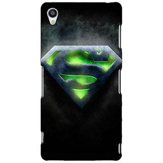 Jugaaduu Superheroes Superman Back Cover Case For Sony Xperia Z3 - J260389