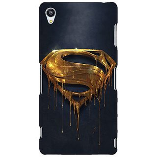 Jugaaduu Superheroes Superman Back Cover Case For Sony Xperia Z3 - J260391