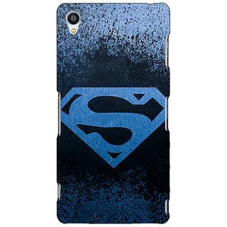 Jugaaduu Superheroes Superman Back Cover Case For Sony Xperia Z3 - J260393
