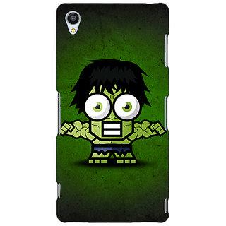 Jugaaduu Big Eyed Superheroes Hulk Back Cover Case For Sony Xperia Z3 - J260394