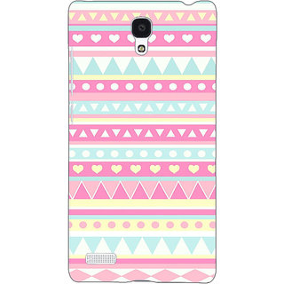 Jugaaduu Aztec Girly Tribal Back Cover Case For Redmi Note 4G - J240075