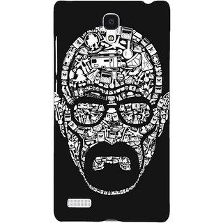 Jugaaduu Breaking Bad Heisenberg Back Cover Case For Redmi Note 4G - J240407
