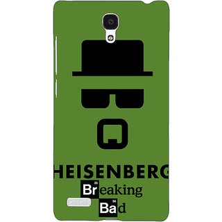 Jugaaduu Breaking Bad Heisenberg Back Cover Case For Redmi Note 4G - J240414