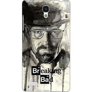 Jugaaduu Breaking Bad Heisenberg Back Cover Case For Redmi Note 4G - J240419