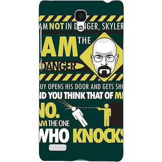Jugaaduu Breaking Bad Heisenberg Back Cover Case For Redmi Note 4G - J240420