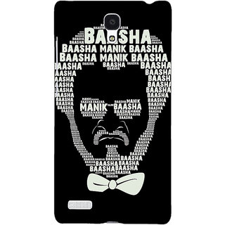 Jugaaduu Rajni Rajanikant Back Cover Case For Redmi Note 4G - J241494
