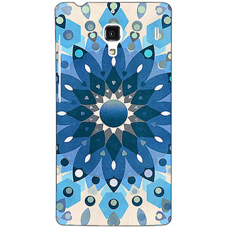 Jugaaduu Dream Flower Pattern Back Cover Case For Redmi 1S - J250255