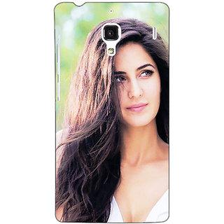 Jugaaduu Bollywood Superstar Katrina Kaif Back Cover Case For Redmi 1S - J251023
