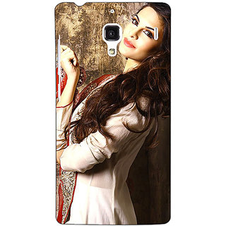 Jugaaduu Bollywood Superstar Jacqueline Fernandez Back Cover Case For Redmi 1S - J251044