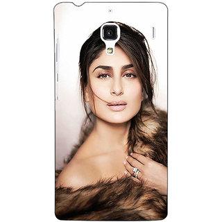 Jugaaduu Bollywood Superstar Kareena Kapoor Back Cover Case For Redmi 1S - J251045