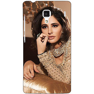 Jugaaduu Bollywood Superstar Nargis Fakhri Back Cover Case For Redmi 1S - J251057