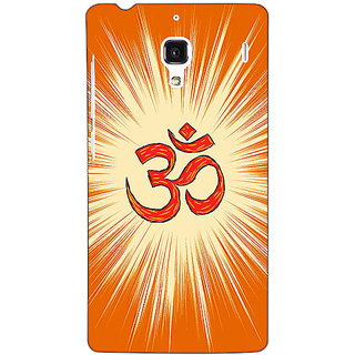 Jugaaduu OM Back Cover Case For Redmi 1S - J251283