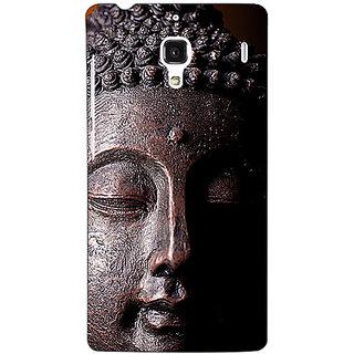 Jugaaduu Gautam Buddha Back Cover Case For Redmi 1S - J251285