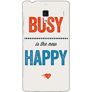 Jugaaduu Quote Back Cover Case For Redmi 1S - J251325