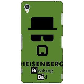 Jugaaduu Breaking Bad Heisenberg Back Cover Case For Sony Xperia Z3 - J260414