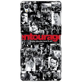 Jugaaduu Entourage Back Cover Case For Sony Xperia Z3 - J260438