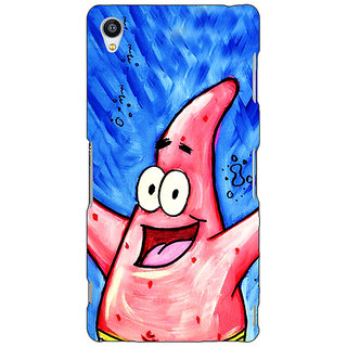 Jugaaduu Spongebob Patrick Back Cover Case For Sony Xperia Z3 - J260463