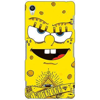 Jugaaduu Spongebob Back Cover Case For Sony Xperia Z3 - J260466