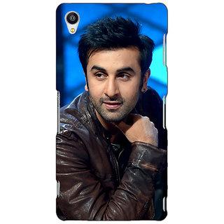 Jugaaduu Bollywood Superstar Ranbir Kapoor Back Cover Case For Sony Xperia Z3 - J260903