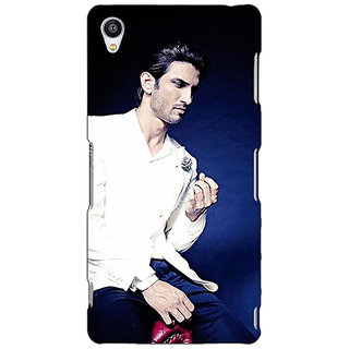 Jugaaduu Bollywood Superstar Sushant Singh Rajput Back Cover Case For Sony Xperia Z3 - J260929