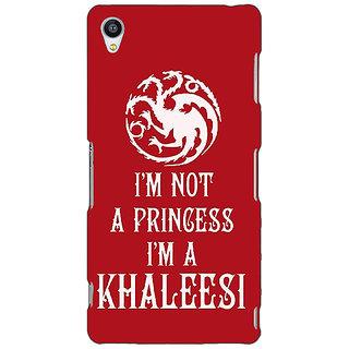 Jugaaduu Game Of Thrones GOT Princess Khaleesi Back Cover Case For Sony Xperia Z3 - J261536