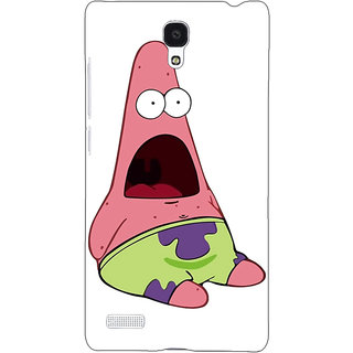 Jugaaduu Spongebob Patrick Back Cover Case For Redmi Note 4G - J240475
