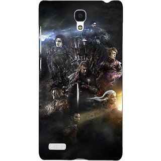 Jugaaduu Game Of Thrones GOT All Back Cover Case For Redmi Note 4G - J241535