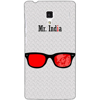 Jugaaduu Bollywood Superstar Mr. India Back Cover Case For Redmi 1S - J251089