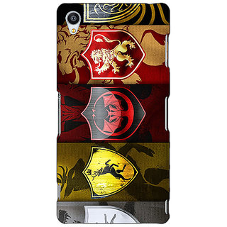 Jugaaduu Game Of Thrones GOT  Back Cover Case For Sony Xperia Z3 - J260119