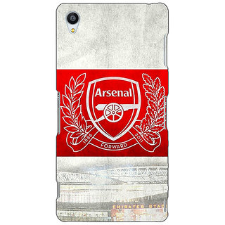 Jugaaduu Arsenal Alexis Sanchez Back Cover Case For Sony Xperia Z3 - J260510