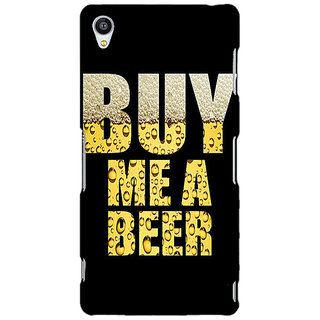 Jugaaduu Beer Quote Back Cover Case For Sony Xperia Z3 - J261224
