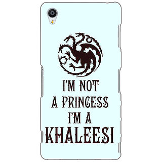 Jugaaduu Game Of Thrones GOT Princess Khaleesi Back Cover Case For Sony Xperia Z3 - J261538
