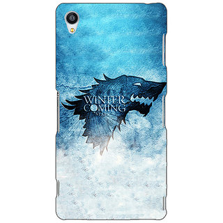 Jugaaduu Game Of Thrones GOT House Stark Back Cover Case For Sony Xperia Z3 - J261549