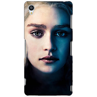 Jugaaduu Game Of Thrones GOT Khaleesi Daenerys Targaryen Back Cover Case For Sony Xperia Z3 - J261551