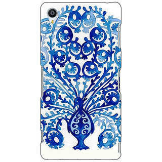 Jugaaduu Paisley Beautiful Peacock Back Cover Case For Sony Xperia Z3 - J261579