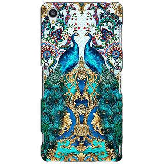 Jugaaduu Paisley Beautiful Peacock Back Cover Case For Sony Xperia Z3 - J261593
