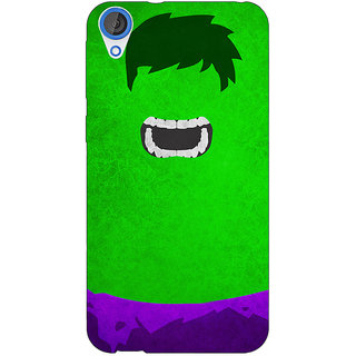 Jugaaduu Superheroes Hulk Back Cover Case For HTC Desire 820 - J280322