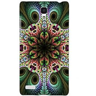 Jugaaduu Paisley Beautiful Peacock Back Cover Case For Redmi Note 4G - J241597