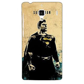 Jugaaduu Superheroes Superman Back Cover Case For Redmi 1S - J250027